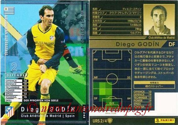 2013-14 - WCCF - N° URS2 - Diego GODIN (Atletico Madrid) (Uruguyan Superstars)