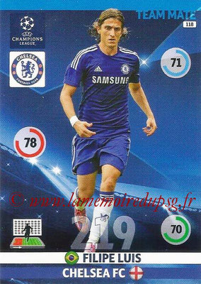 2014-15 - Adrenalyn XL champions League N° 118 - Felipe LUIS (Chelsea FC)