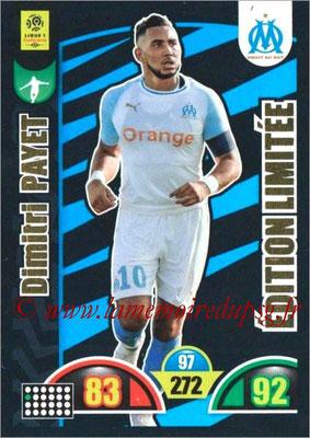 2018-19 - Panini Adrenalyn XL Ligue 1 - N° LE-DP - Dimitri PAYET (Marseille) (Edition Limitée)