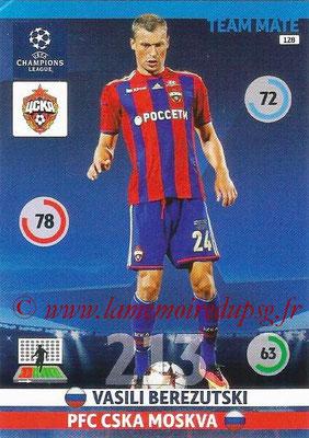 2014-15 - Adrenalyn XL champions League N° 128 - Vasili BEREZUTSKI ( PFC CSKA Moscou)