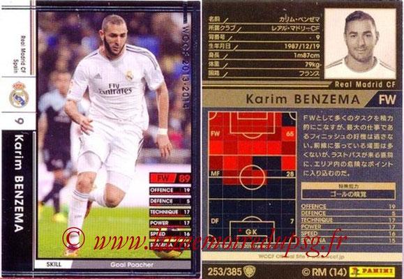 2013-14 - WCCF - N° 253 - Karim BENZEMA (Real Madrid CF)