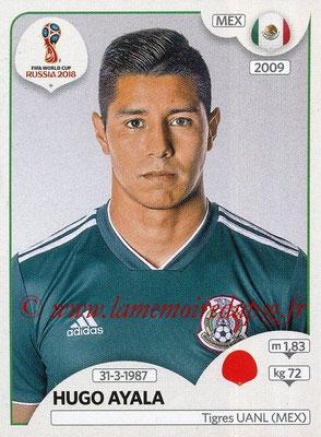 2018 - Panini FIFA World Cup Russia Stickers - N° 455 - Hugo AYALA (Mexique)
