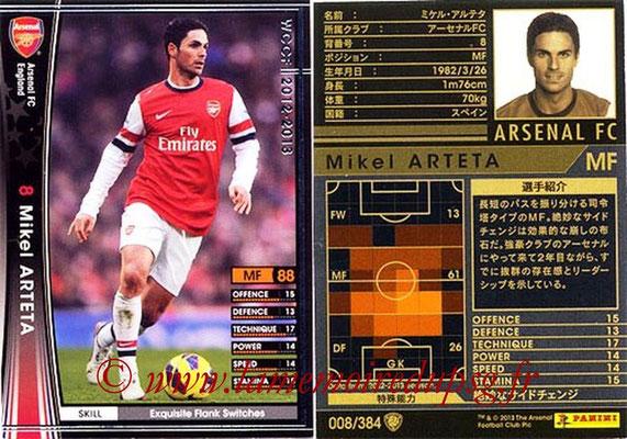 2012-13 - WCCF - N° 008 - Mikel ARTETA (Arsenal FC)