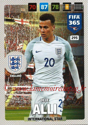 2016-17 - Panini Adrenalyn XL FIFA 365 - N° 295 - Dele ALLI (Angleterre) (International Star)
