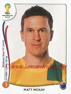2014 - Panini FIFA World Cup Brazil Stickers - N° 175 - Matt MCKAY (Australie)