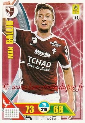 2017-18 - Panini Adrenalyn XL Ligue 1 - N° 164 - Ivan BALLIU (Metz)