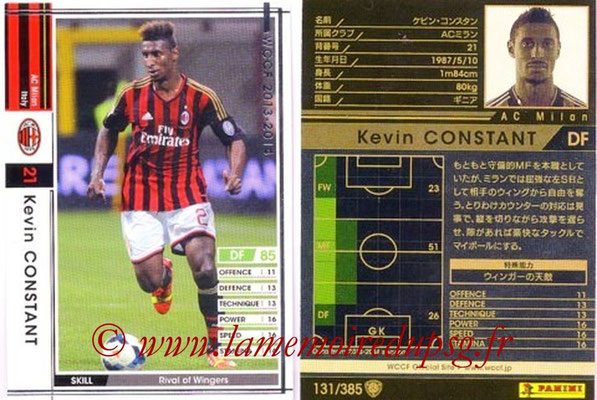 2013-14 - WCCF - N° 131 - Kevin CONSTANT (Milan AC)