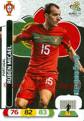 Panini Euro 2012 Cards Adrenalyn XL - N° 174 - Ruben MICAEL (Portugal) (Rising Star)