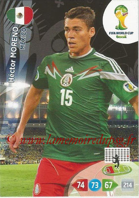2014 - Panini FIFA World Cup Brazil Adrenalyn XL - N° 243 - Hector MORENO (Mexique)