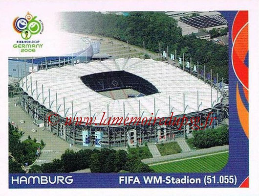 2006 - Panini FIFA World Cup Germany Stickers - N° 005 - Hamburg - FIFA WM-Stadion