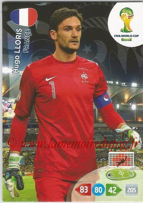2014 - Panini FIFA World Cup Brazil Adrenalyn XL - N° 158 - Hugo LLORIS (France)