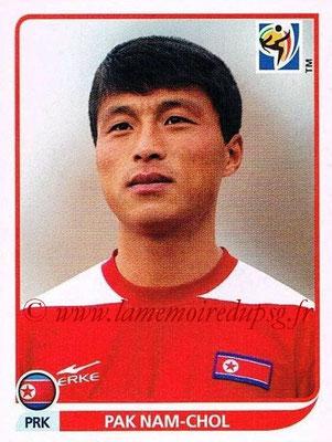 2010 - Panini FIFA World Cup South Africa Stickers - N° 516 - Pak NAM-CHOL (Corée du Nord)