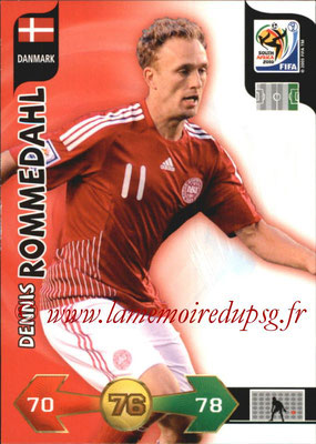 2010 - Panini FIFA World Cup South Africa Adrenalyn XL - N° 083 - Dennis ROMMEDAHL (Danemark)