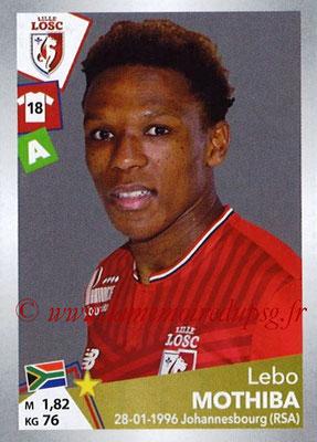 2017-18 - Panini Ligue 1 Stickers - N° T17 - Lebo MOTHIBA (Lille) (Transfert)