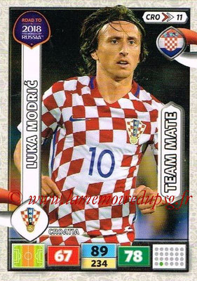 2018 - Panini Road to FIFA World Cup Russia Adrenalyn XL - N° CRO11 - Luka MODRIC (Croatie)