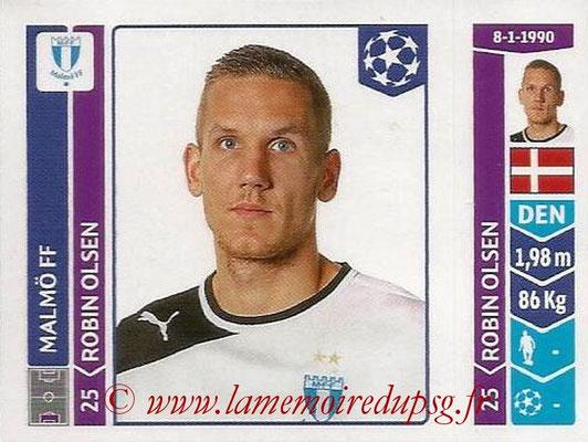 2014-15 - Panini Champions League N° 091 - Robin OLSEN (Malmö FF)