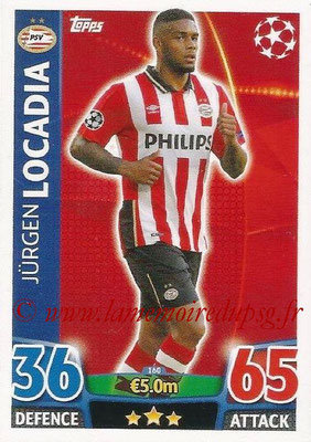 2015-16 - Topps UEFA Champions League Match Attax - N° 160 - Jürgen LOCADIA (PSV Eindhoven)
