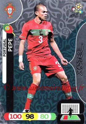 Panini Euro 2012 Cards Adrenalyn XL - N° 294 - PEPE (Portugal) (Master)