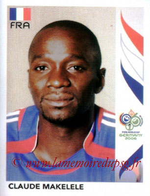 N° 464 - Claude MAKELELE (2006, France > 2008-11, PSG)