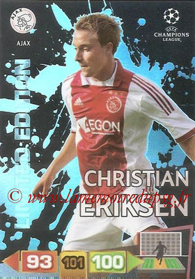 2011-12 - Panini Champions League Cards - N° LE01 - Christian ERIKSEN (AFC Ajax) (Limited Edition)