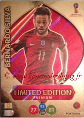2018 - Panini FIFA World Cup Russia Adrenalyn XL - N° LE-BS - Bernardo SILVA (Portugal) (Limited Edition Premium)