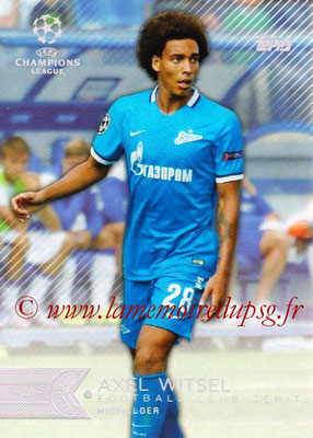 2015-16 - Topps UEFA Champions League Showcase Soccer - N° 184 - Axel WITSEL (FC Zenit)