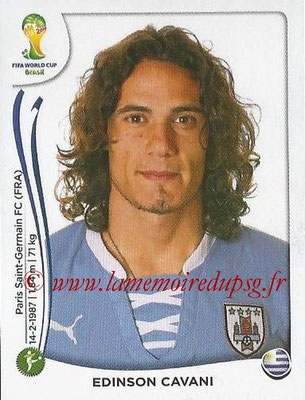 2014 - Panini FIFA World Cup Brazil Stickers - N° 277 - Edinson CAVANI (Uruguay)