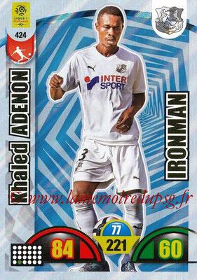 2018-19 - Panini Adrenalyn XL Ligue 1 - N° 424 - Khaled ADENON (Amiens) (Ironman)