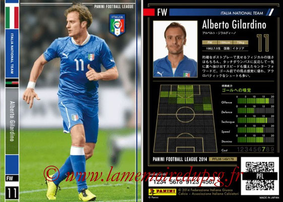 Panini Football League 2014 - PFL08 - N° 149 - Alberto GILARDINO (Italie)