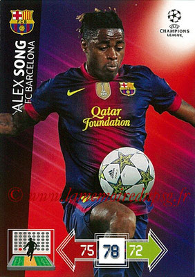 2012-13 - Adrenalyn XL champions League N° 036 - Alex SONG (FC Barcelone)