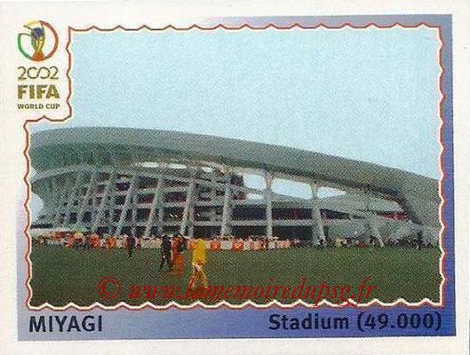 2002 - Panini FIFA World Cup Stickers - N° 018 - Stade Miyagi (Stadium)