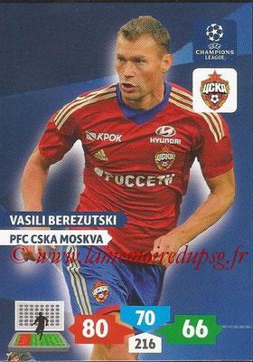 2013-14 - Adrenalyn XL champions League N° 129 - Vasili BEREZUTSKI (PFC CSKA Moscou)