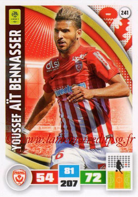 2016-17 - Panini Adrenalyn XL Ligue 1 - N° 241 - Youssef AÏT BENNASSER (Nancy)