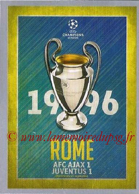 2015-16 - Topps UEFA Champions League Stickers - N° 588 - UEFA Champions League Final 1995-96