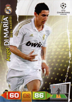 2011-12 - Panini Champions League Cards - N° 233 - Angel DI MARIA (Real Madrid CF)