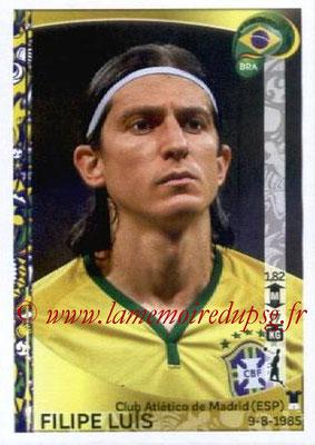 Panini Copa America Centenario USA 2016 Stickers - N° 118 - Filipe LUIS (Brésil)