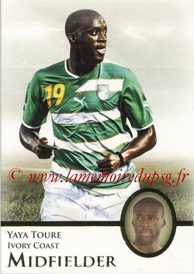 2013 - Futera World Football Unique - N° 059 - Yaya TOURE (Côte d'Ivoire) (Midfielder)