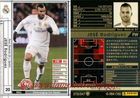 N° 272 - JESE Rodriguez (2015-16, Real Madrid, ESP > 2016-??, PSG)