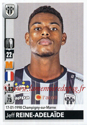 2018-19 - Panini Ligue 1 Stickers - N° 040 - Jeff REINE-ADELAÏDE (Angers)
