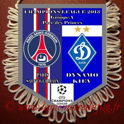 Fanion  PSG-Dynamo Kiev  2012-13