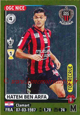 2015-16 - Panini Ligue 1 Stickers - N° 336 - Hatem BEN ARFA (OGC Nice) (Top recrue)