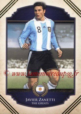 2014 - Futera World Football Unique - N° 119 - Javier ZANETTI (The Greats)