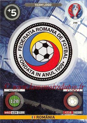 Panini Euro 2016 Cards - N° 298 - Logo Roumanie (Team Logo)