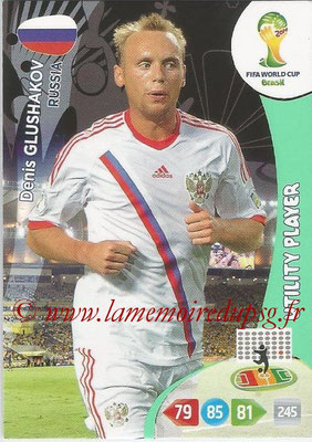 2014 - Panini FIFA World Cup Brazil Adrenalyn XL - N° 287 - Denis GLUSHAKOV (Russie) (Utility Player)