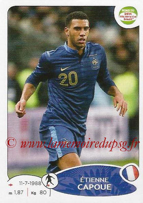 2014 - Panini Road to FIFA World Cup Brazil Stickers - N° 104 - Etienne CAPOUE (France)