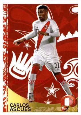 Panini Copa America Centenario USA 2016 Stickers - N° 425 - Carlos ASCUES (Perou) (En action)