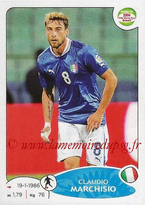 2014 - Panini Road to FIFA World Cup Brazil Stickers - N° 027 - Claudio MARCHISIO (Italie)