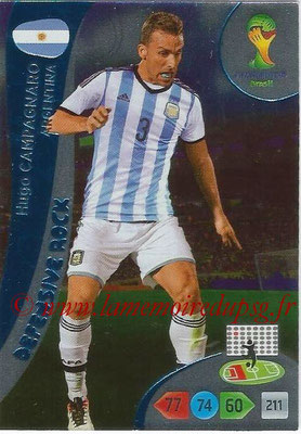 2014 - Panini FIFA World Cup Brazil Adrenalyn XL - N° 361 - Hugo CAMPAGNARO (Argentine) (Defensive Rock)