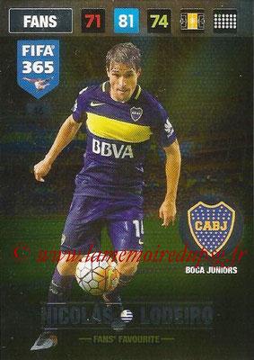 2016-17 - Panini Adrenalyn XL FIFA 365 - N° 046 - Nicolas LODEIRO (CA Boca Juniors) (Fans' Favourite)