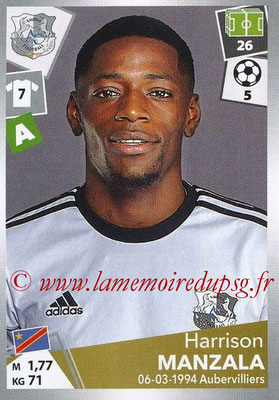 2017-18 - Panini Ligue 1 Stickers - N° 018 - Harrison MANZALA (Amiens)